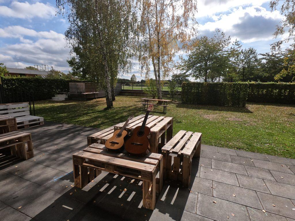 Gitarrenunterricht in der Messestadt Riem