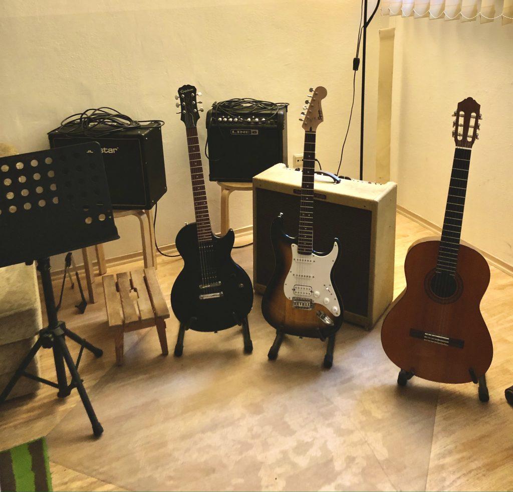 Gitarrenuntericht in Schwabing